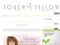 The touch of yellow-beauty blog and koreancosmetic