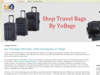 Online travel bag store