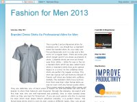 Fashion for Men 2013