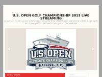 U.S. Open Golf Championship 2013 Live Streaming
