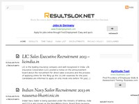 Results, Recruitment, Exam Notification, Time Tabl