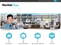 Workin'Asia - Jobs and career in Asia