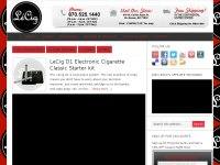 Electronic Cigarette Blog from LeCig