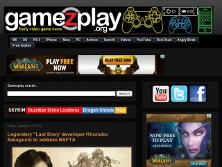 gamezplay video game news and trailers daily