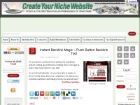 Create Your Niche Website