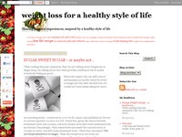 weight loss for a healthy style of life