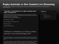 Rugby Australia vs New Zealand Live Streaming
