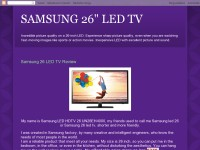 Samsung 26' LED TV