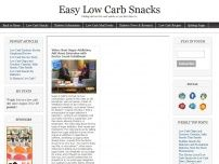 Easy Low Carb Snacks